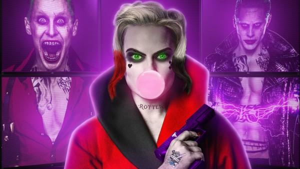 Харли Квинн и Джокер в одном лице картинки