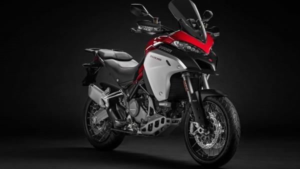 2019 Ducati Multistrada 1260 Enduro обои 4K