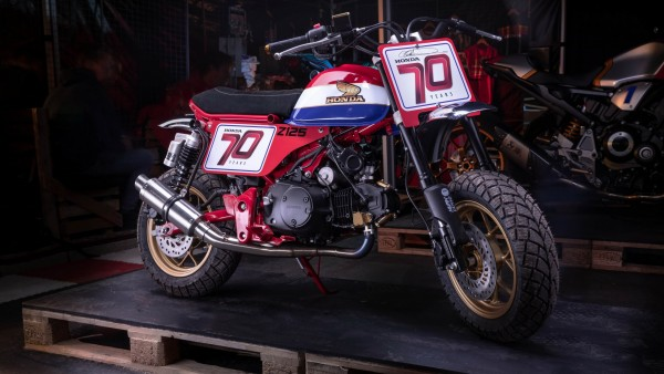 Honda Z125 Monkey мотоцикл картинки