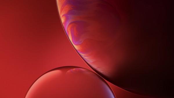 Красные пузыри фоны картинки