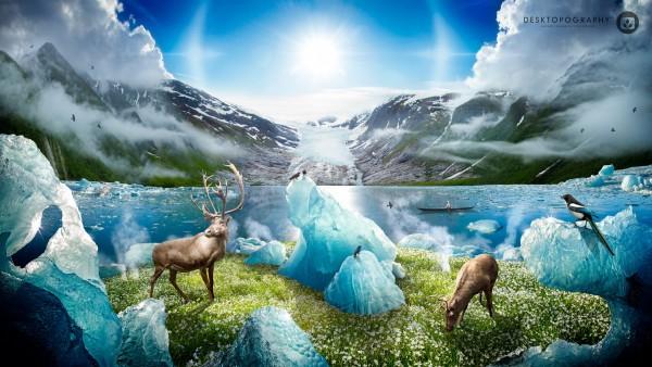 Картинки таяние льдов