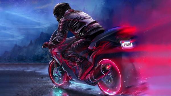 Ночной гонщик обои HD