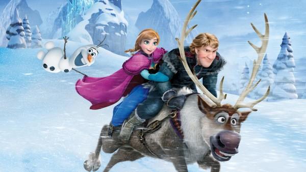 Обои из мультфильма холодное сердце