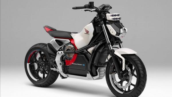 Электрический мотоцикл от Хонда картинки