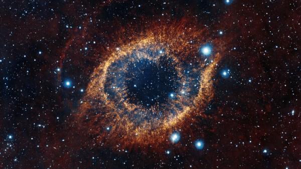 Туманность Улитка космос картинки