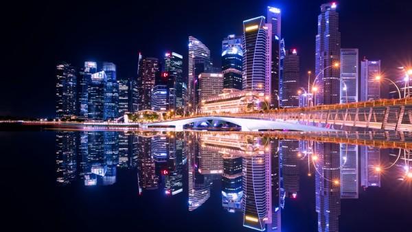 Ночной мегаполис картинки