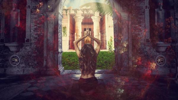 Молящаяся девушка картинки