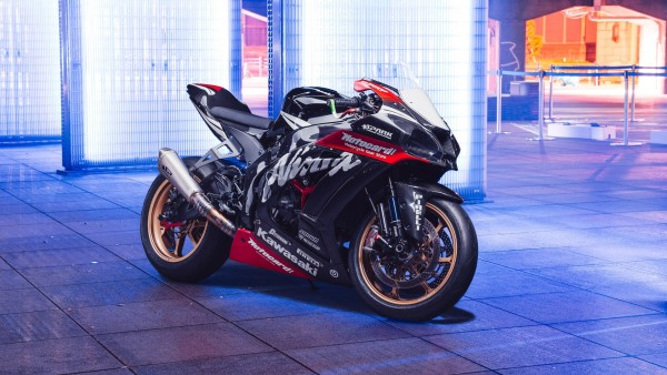 Мотоцикл Kawasaki Ninja ZX-10R обои