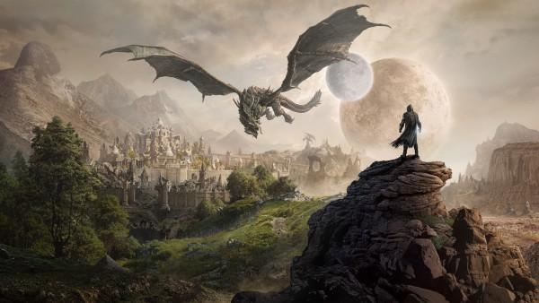 Обои дракон