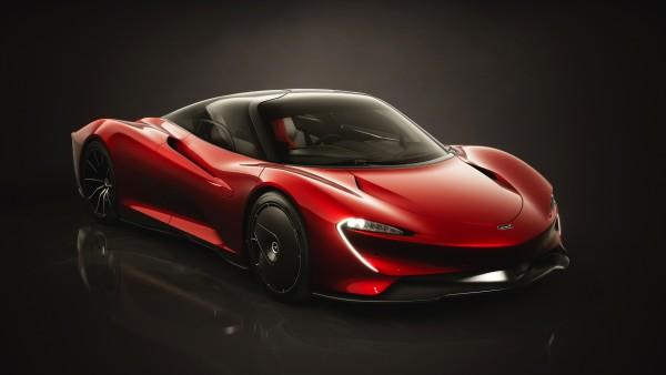 McLaren Speedtail Bloodline Concept 4K обои
