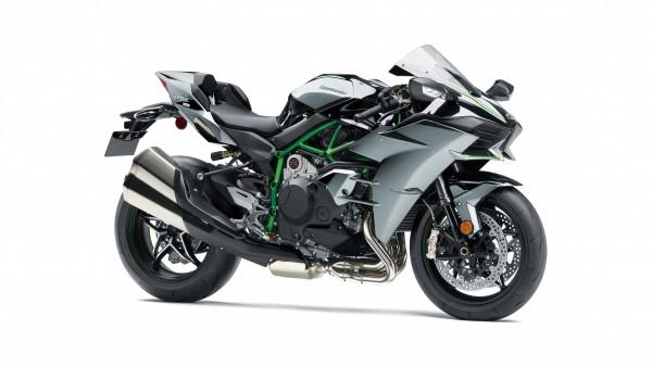 2019 Kawasaki Ninja H2 4K обои
