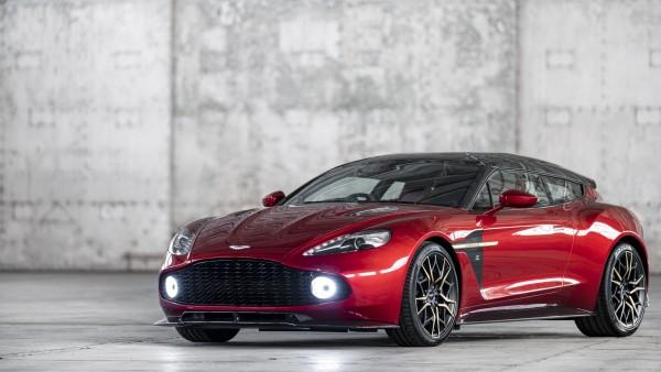 Aston Martin Vanquish Zagato Shooting Brake 2019 обои