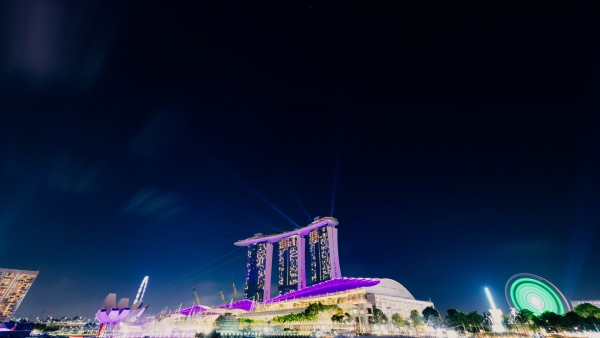 Marina Bay Sands гостинеца обои 4K