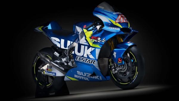 2019 Suzuzki GSX-RR MotoGP 4K обои