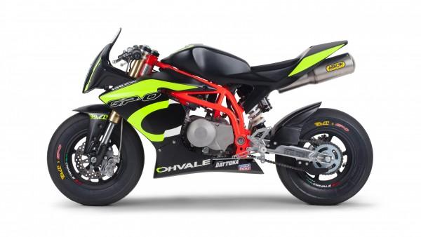 Ohvale GP-0 Daytona 190 Concept Bike 4K обои