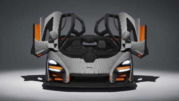Автомобиль McLaren Senna из LEGO обои 4K