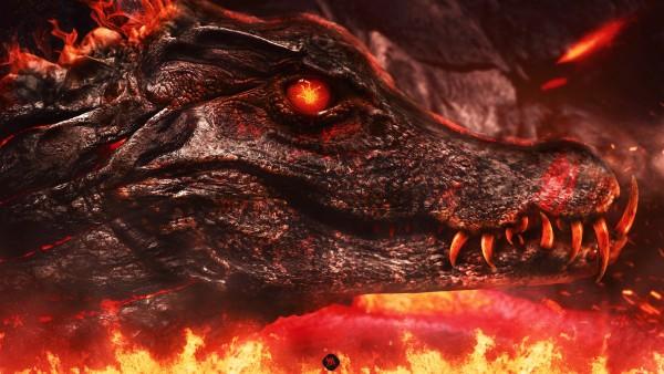 Крокодил из ада обои HD