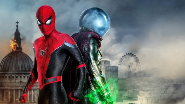 Человек-Паук: вдали от дома Гидромен обои HD
