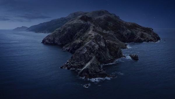 Ночные горы в море картинки