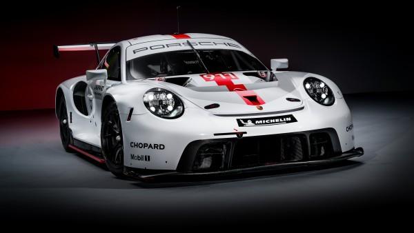 Porsche 911 RSR 2019 обои 4K