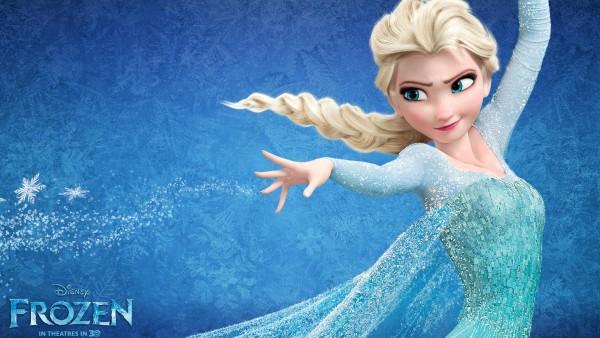 Королева Эльза из мультфильма Холодное сердце