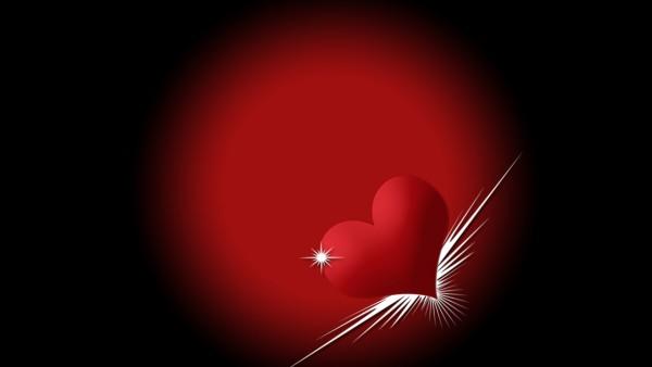 Сердечко на крыльях