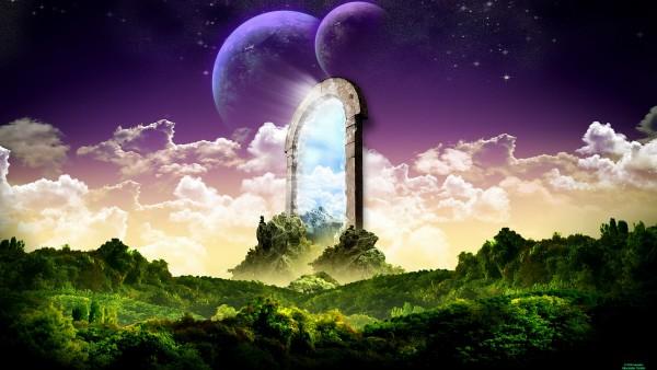 Фэнтези 3D обои природы и космоса