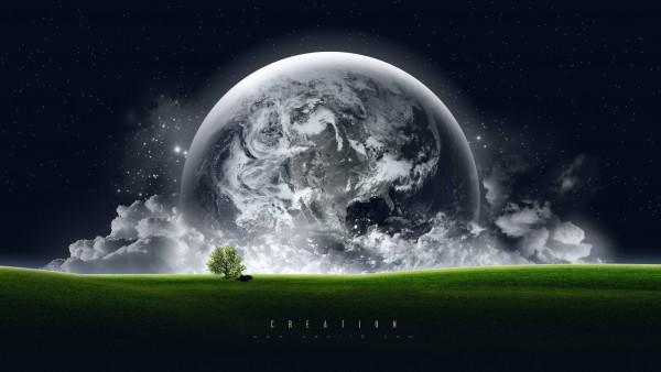 3D природа и космос обои