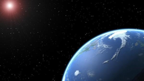 Обои планеты Земля из космоса
