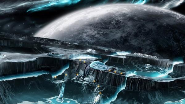 Фантастическая природа в космосе обои 3D бесплатно