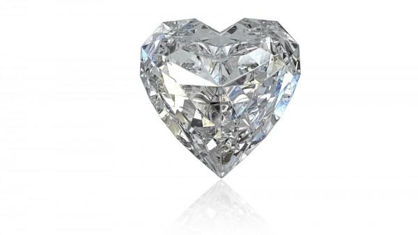 Сердце из брильянтов