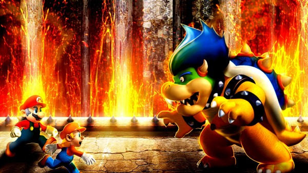 Марио будущее скачать обои