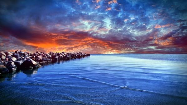 Голубое Балтийское море