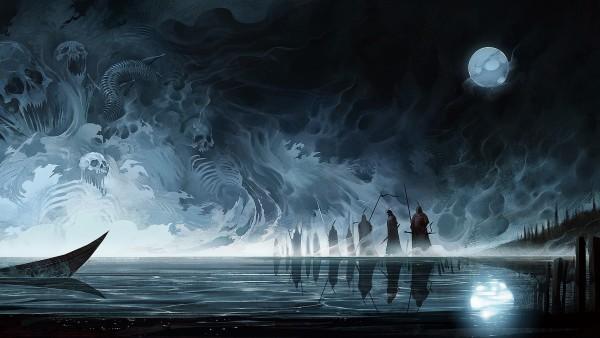 Богатыри в море фэнтези