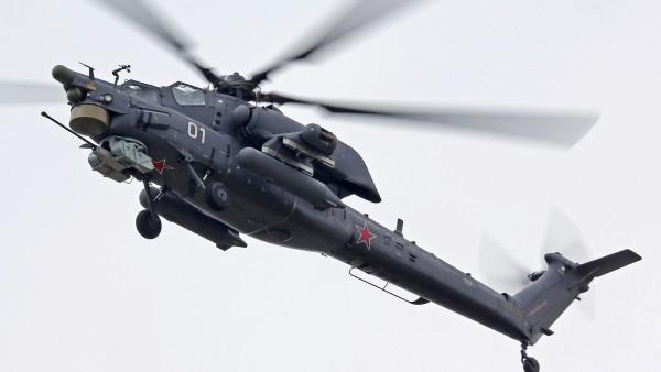 Черная акула военный вертолет