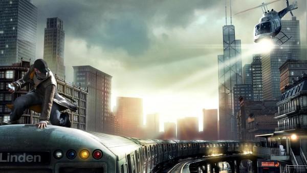 Погоня в мегаполисе