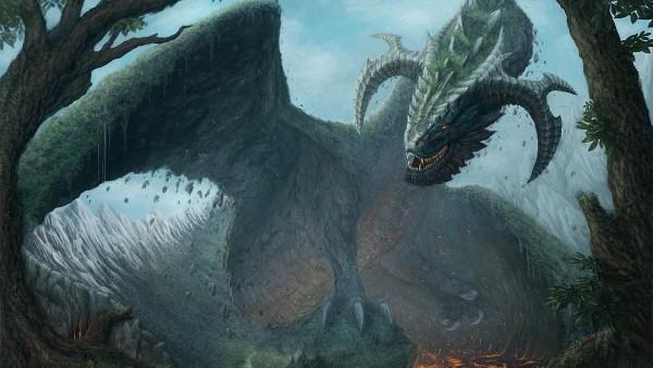 Фэнтези дракон