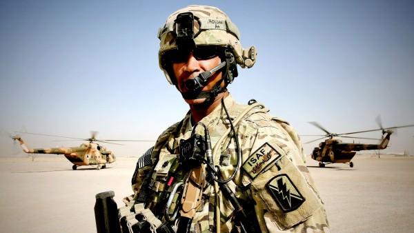 Американский солдат пехотинец