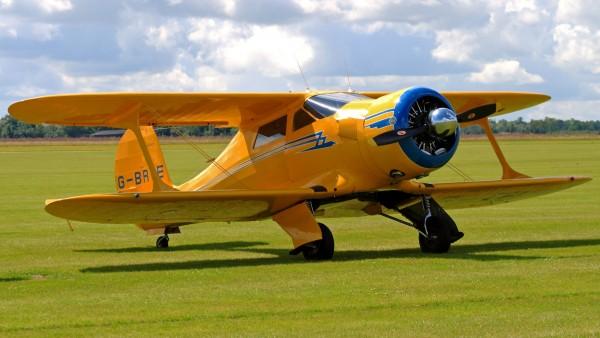 Желтый самолет кукурузник