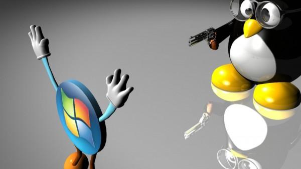 Линукс против виндовс бренды