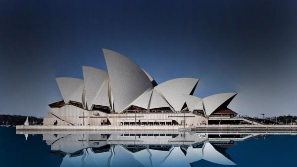 Сиднейский оперный театр в отличном ракурсе