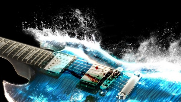 Водяная гитара красивые картинки на рабочий стол