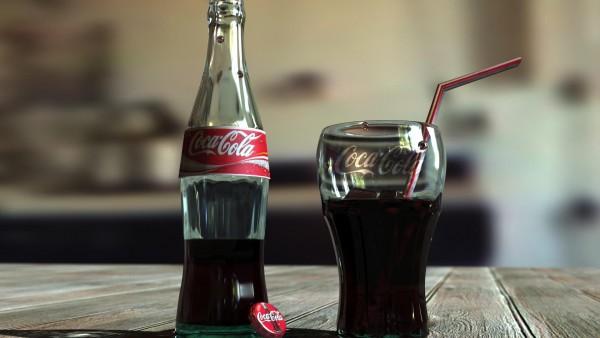 Обои бренда Кока-Кола