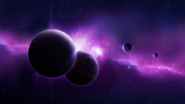 Далекая галактика обои