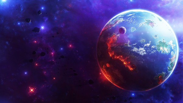 Фото планеты Земля с космоса
