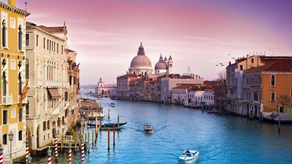 Город Венеция обои