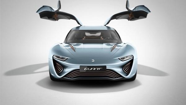 QUANT e-Sportlimousine, nanoFLOWCELL AG автомобиль обои