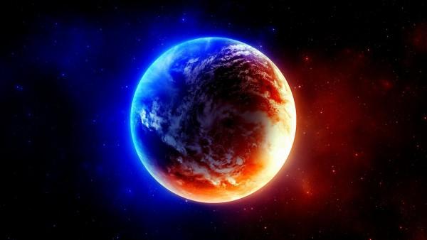 Яркие рисунки космоса