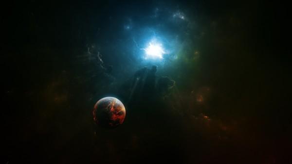 Планета в космосе заставки скачать бесплатно