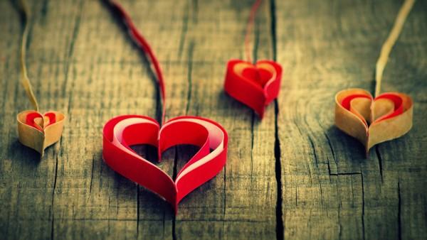 Сердечки заставки